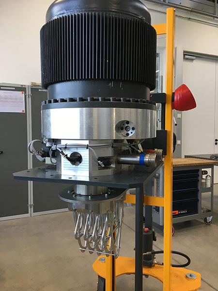 Stirling engine, Alpha Typ