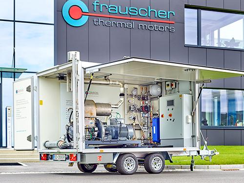 Frauscher Trailer Stirling Engine G600