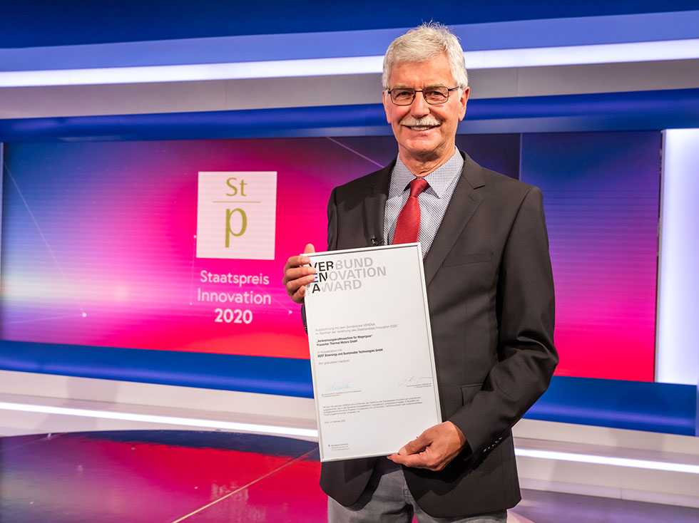 Josef Frauscher proudly presents Verena Award
