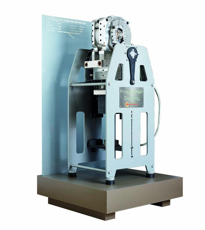Alpha Stirlingmotor A600 von frauscher thermal motors 2010