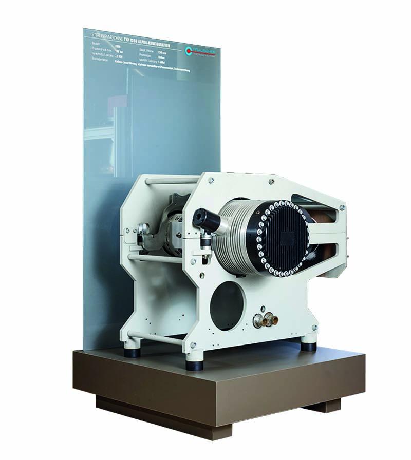 Alpha Stirlingmotor T350 von frauscher thermal motors 2008