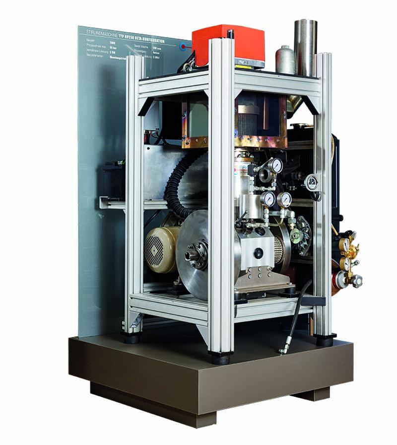Beta Stirlingmotor HP250 von frauscher thermal motors 2009
