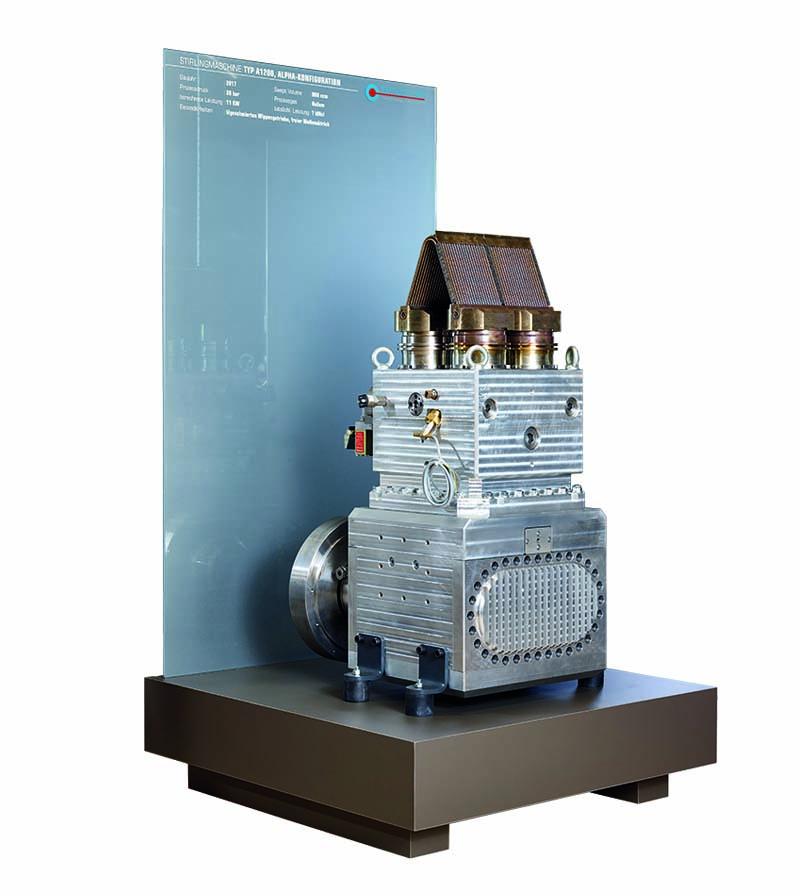 Alpha Stirlingmotor A1200 von frauscher thermal motors 2017