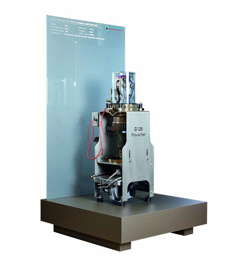 Gamma Stirlingmotor G125 by frauscher thermal motors 2010
