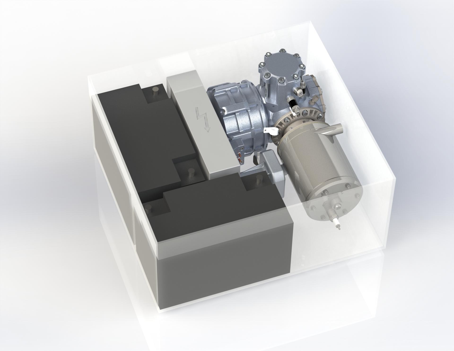 MobilGen G70 Battery Box