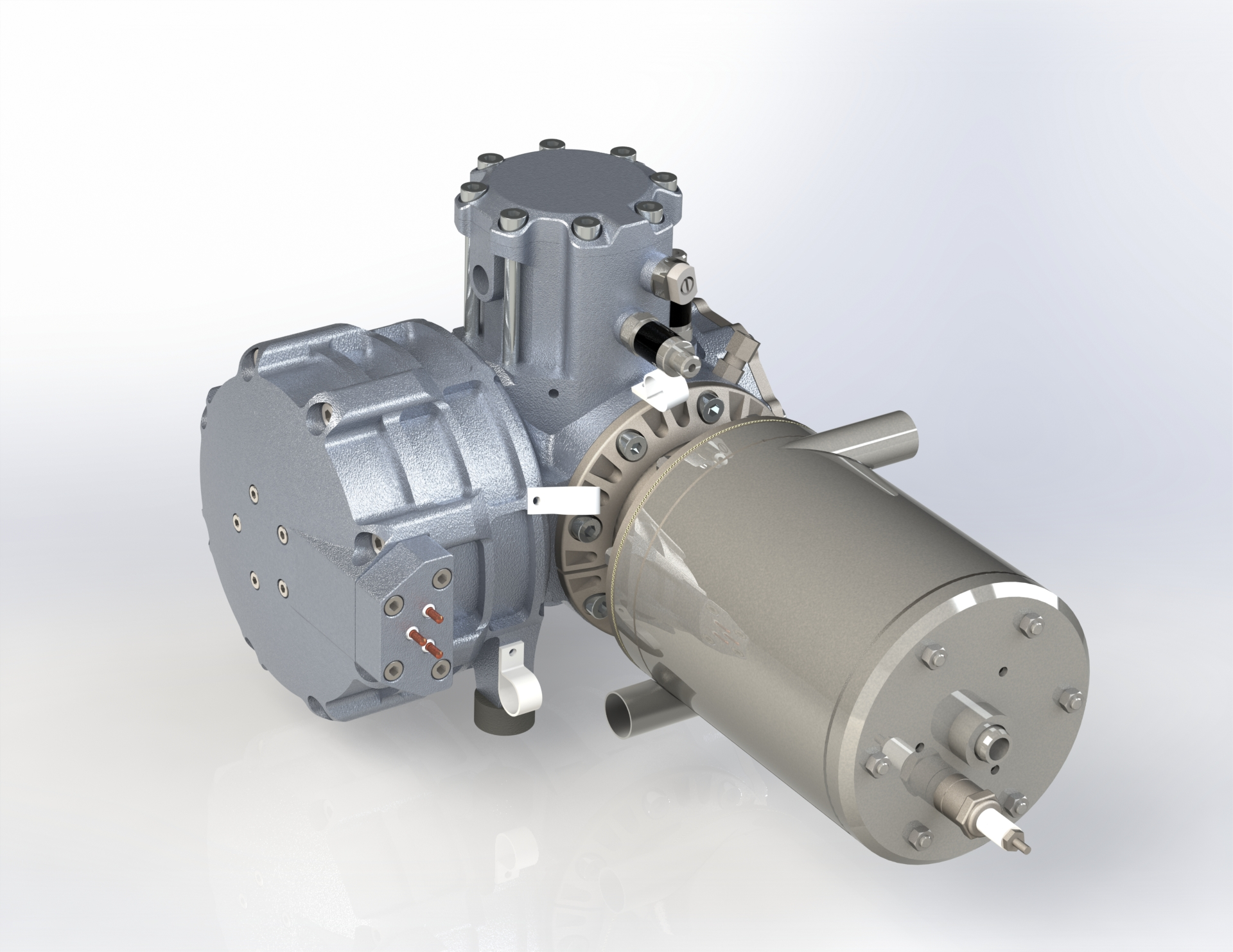 MobilGen G70 Auxiliary Power Unit by frauscher thermal motors