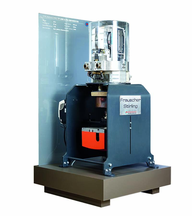 Alpha Stirlingmotor A600 von frauscher thermal motors 2013